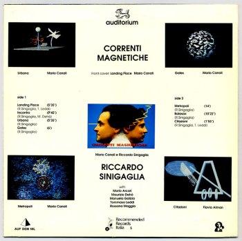 Ricardo Sinigaglia - Correnti Magnetiche LP back cover