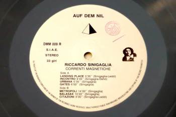 Ricardo Sinigaglia - Correnti Magnetiche LP side A