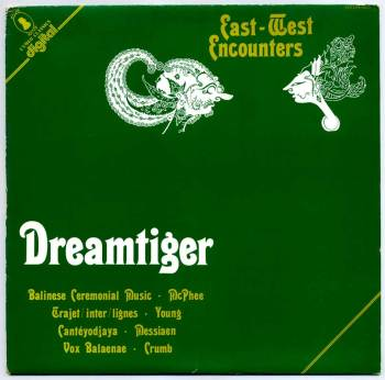 Dreamtiger – East-West Encounters LP front cover