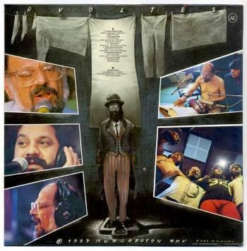 Allen Ginsberg & Hobo – Üvöltés LP back cover