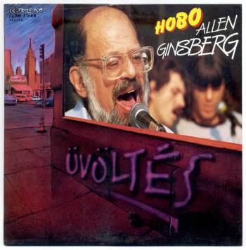 Allen Ginsberg & Hobo – Üvöltés LP front cover