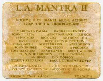 LA Mantra II info sheet