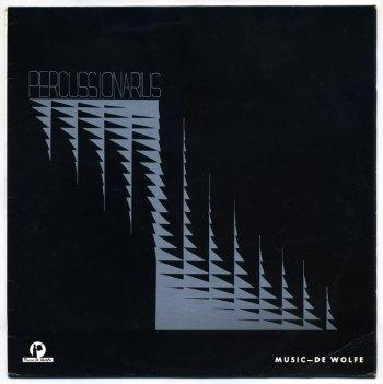London Studio Sound - Percussionarius LP front cover