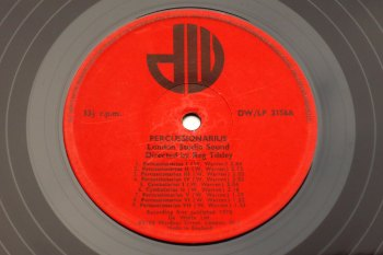 London Studio Sound - Percussionarius LP side A