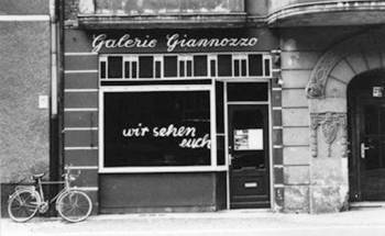 Galerie Giannozzo in the 1980s, Charlottenburg, Berlin