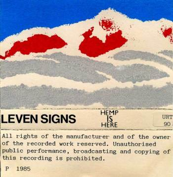 Leven Signs – Hemp Is Here, cassette cover