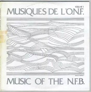 Various – Musiques de l'O.N.F. LP cover