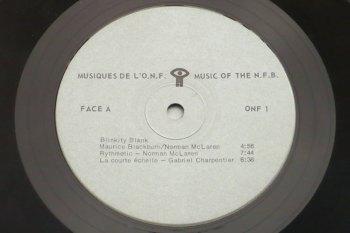 Various – Musiques de l'O.N.F. LP side 1