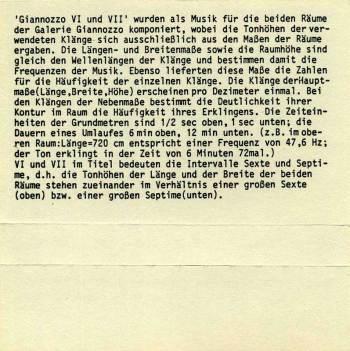 Walter Fähndrich – Musik für Raüme cassette back cover