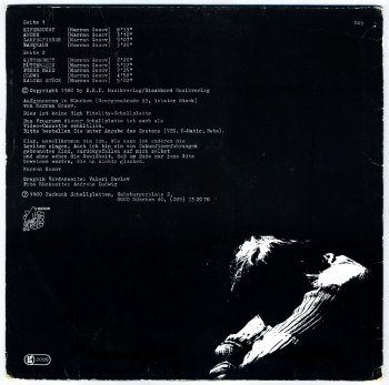 Vocoding Life/Psycho-Akustik LP back cover