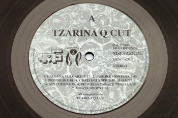 Tzarina Q Cut - Bees On Hali LP side A