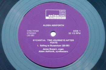 Alden Ashforth - Byzantia: Two Journeys after Yeats LP side 1
