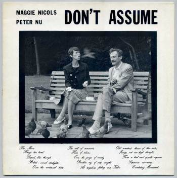 Maggie Nicols & Peter Nu – Don't Assume LP front cover