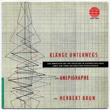 Herbert Brün - Klänge Unterwegs LP front cover