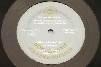Herbert Brün - Klänge Unterwegs LP side B
