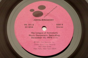 Various - Lovely Little Records, John Bishoff side B