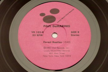 Various - Lovely Little Records, Paul DeMarinis side B