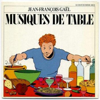 Jean-François Gaël - Musiques de table 7-inch front cover