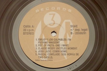 Various ‎– Trying To Make It To The End Of The Century LP cara A