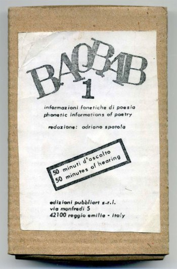Baobab issue #1 cardboard box