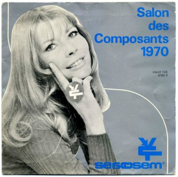 Salon des Composants 1970 front cover
