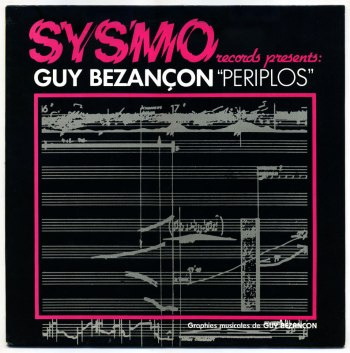 Guy Bezançon – Periplos LP front cover