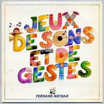 Jeux de Sons et de Gestes LP front cover