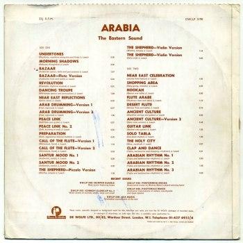 John Leach - Arabia LP back cover