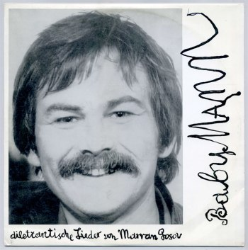 Marran Gosov - BabyMann LP front cover