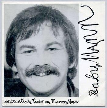 Marran Gosov - BabyMann LP front cover