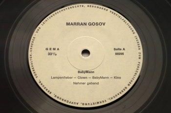 Marran Gosov - BabyMann LP seite A