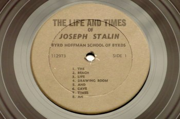 The Life and Times of Joseph Stalin LP side 1