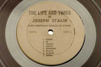 The Life and Times of Joseph Stalin LP side 2