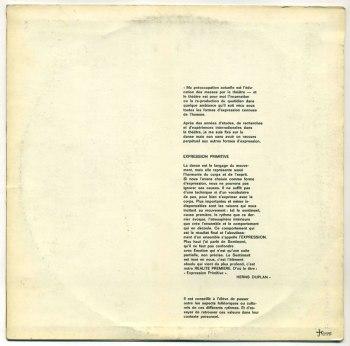 Herns Duplan - Expression Primitive LP back cover