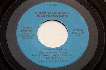 El Jardi de les Delicies 7-inch record side 1