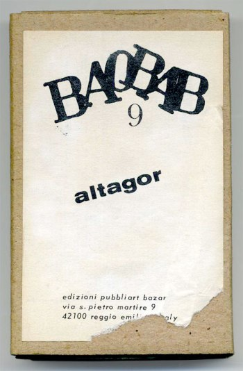 Baobab issue #9 – Altagor box front