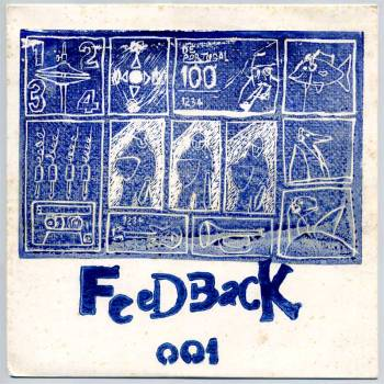 Various - Feedback #001 LP front cover