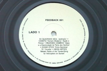 Various - Feedback #001 LP lado 1