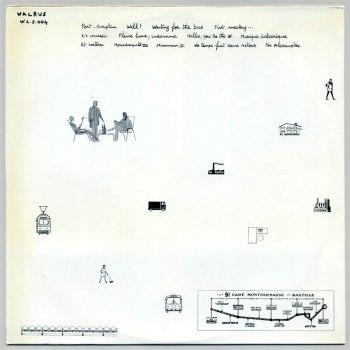 Dominique Lawalrée - Traces LP back cover