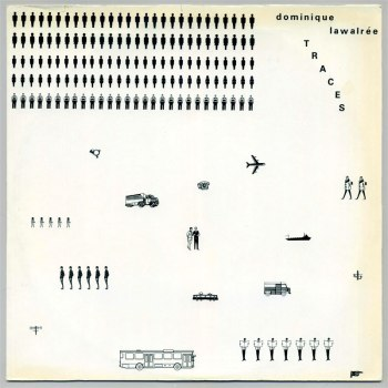 Dominique Lawalrée - Traces LP front cover